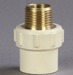 BRASS-MALE-THREADED-ADAPTER